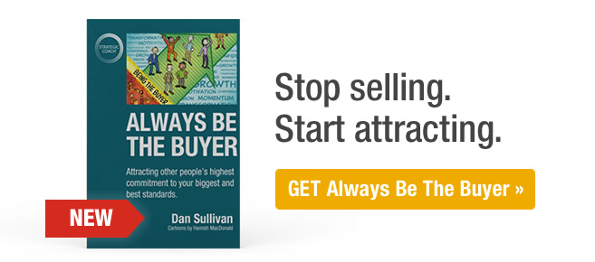 Stop selling. Start attracting.