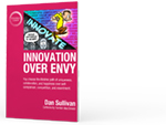 Innovation Over Envy product image.