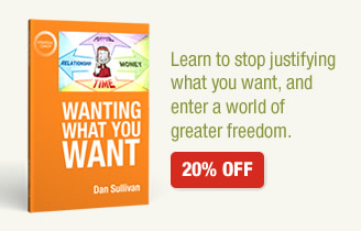 Wanting What You Want 20% off - Learn to stop justifying what you want, and enter a world of greater freedom.