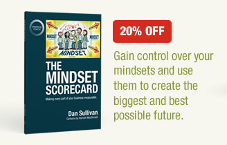 Mindset Scorecard 20% OFF - Gain control over your mindsets and use them to create the biggest and best possible future.