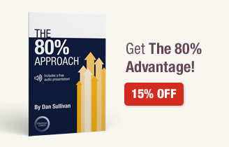 The 80% Approach. Get The 80% Advantage! 15% Off.