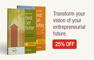 How The Best Get Better 25% off. Transform your vision of your entrepreneurial future.