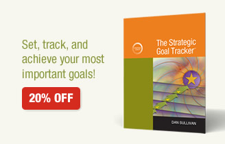 The Strategic Goal Tracker 20% off - Set, track, and achieve your most important goals!