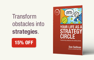 Your Life As A Strategy Circle. Transform obstacles into strategies. 15% Off.